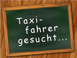 Taxifahrer gesucht